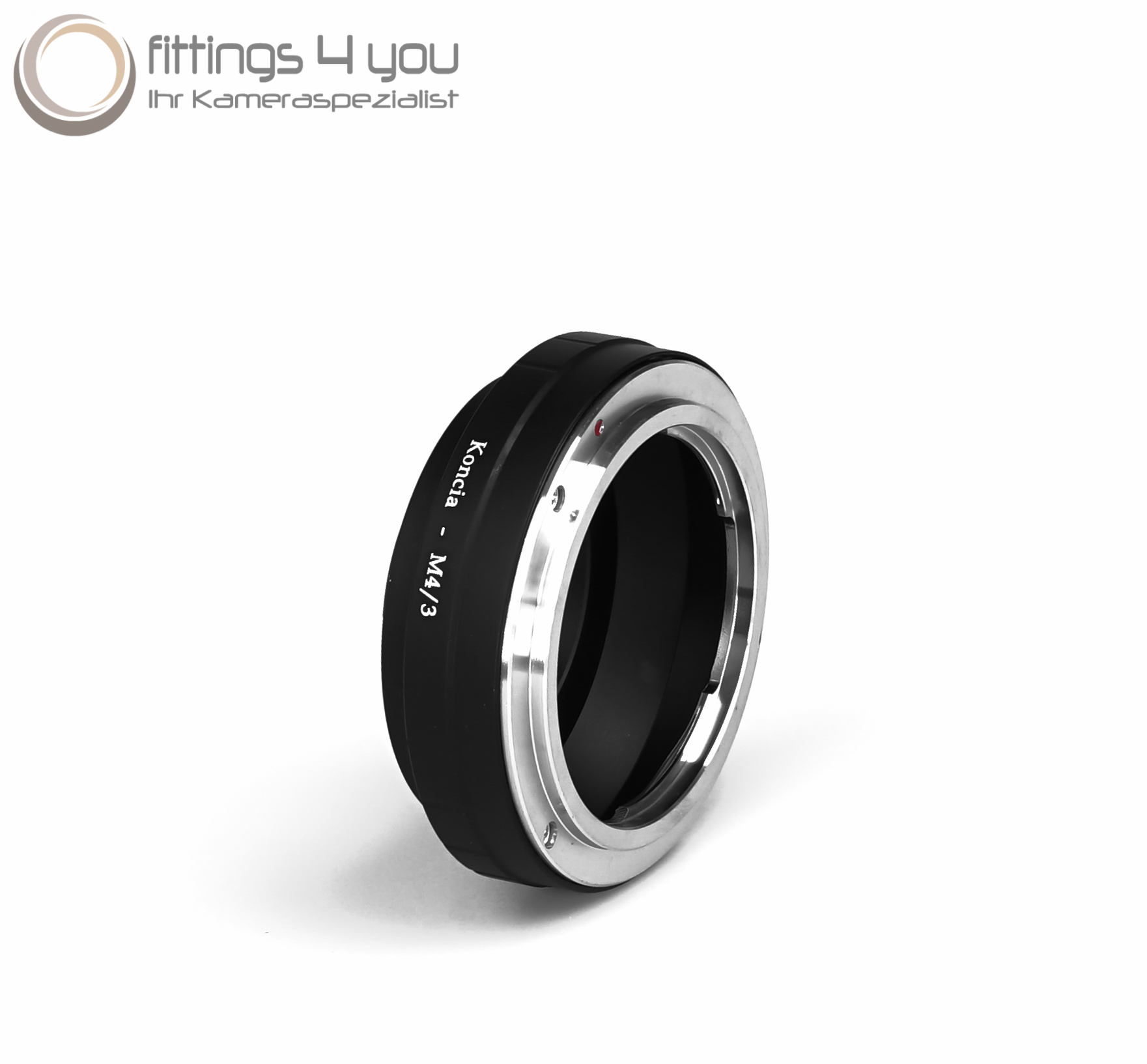 Konica M4//3 Objective Adapter Ar Lens To Micro 4//3 Mft Four Thirds Adapter