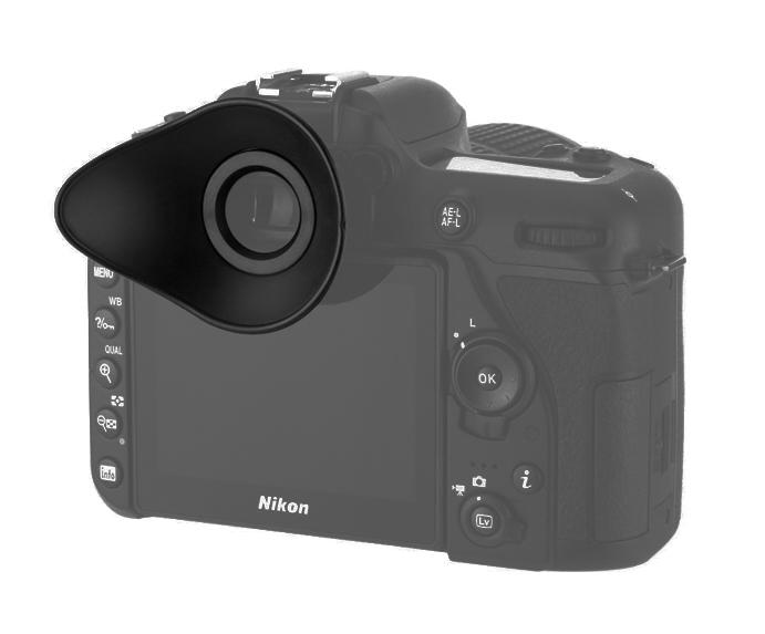 Augenmuschel dk-25 buscador para Nikon d3100 d3200 d3300 d5200 d5300 d5500 25 DK