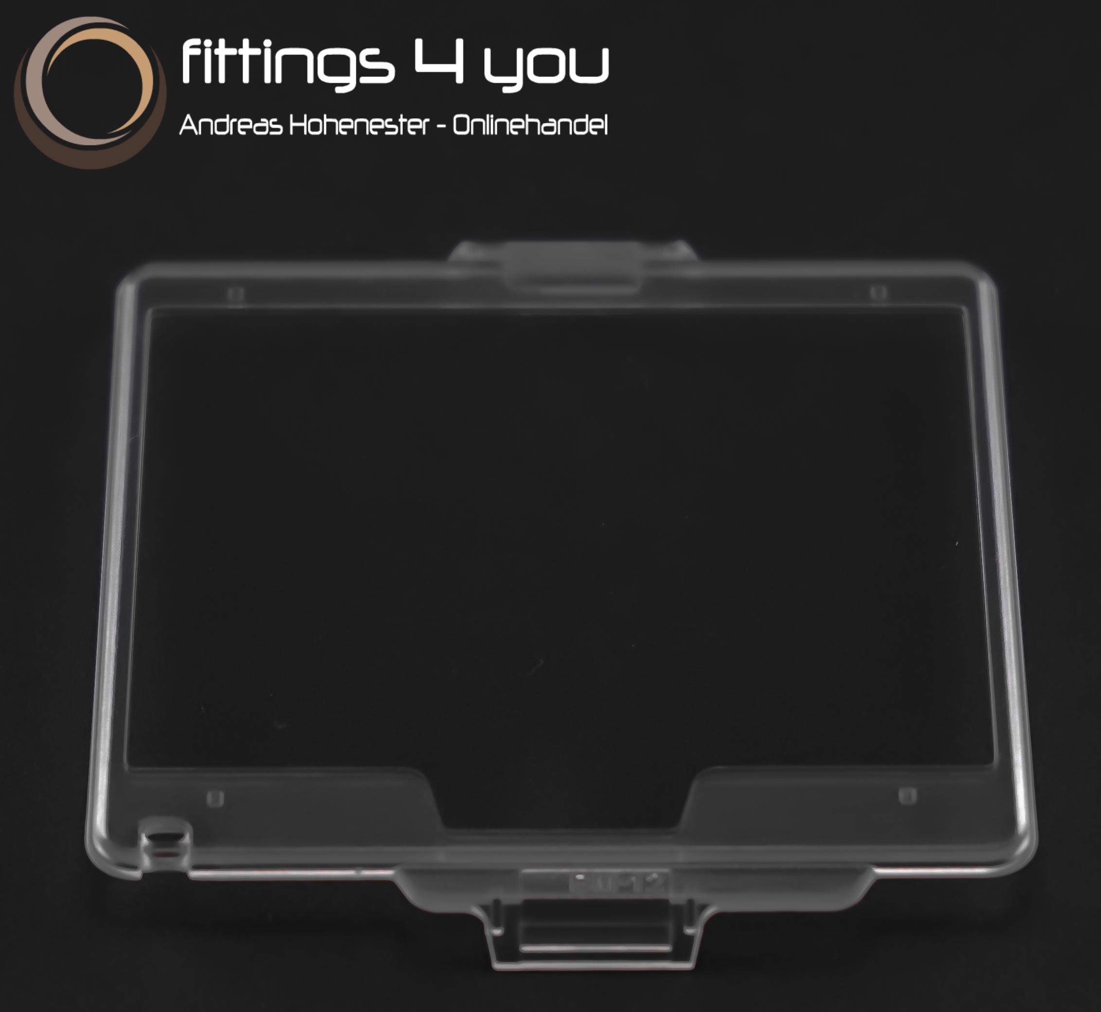 Protezione Display Copri Monitor LCD cristallo MAS Screen Protector Nikon D810