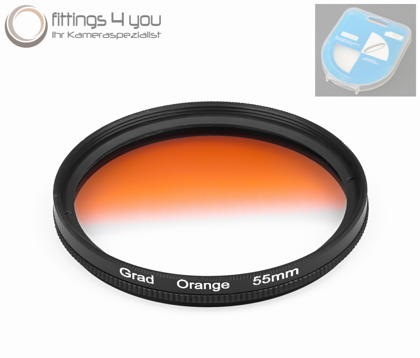 DHD digital marcas 37mm filtros de color naranja full filtro Filtro de marca 37 mm