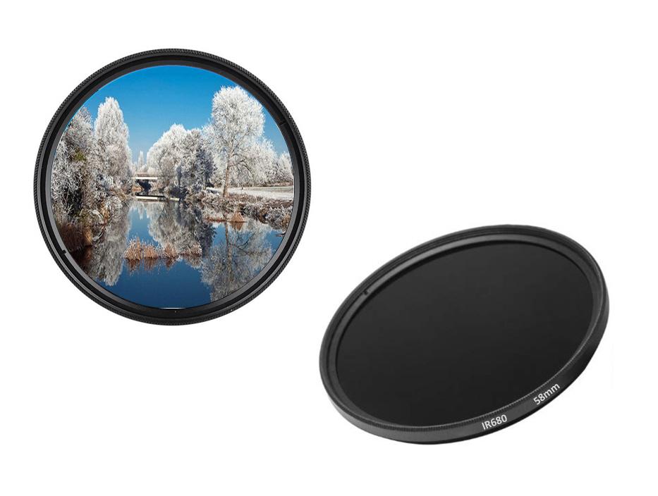67mm ir950 Filtro de infrarrojos filtros infrarrojos 67 mm ir 950 DHD digital pasaporte filtro