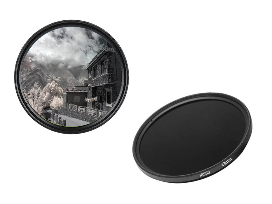 43mm IR950 Infrarotfilter IR Filter 43 mm IR 950 dHD Digital Passfilter