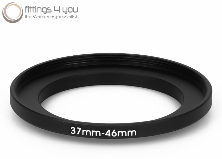 37-46 Step-Up Adapter Ring 37mm to 46mm Thread NEW USA